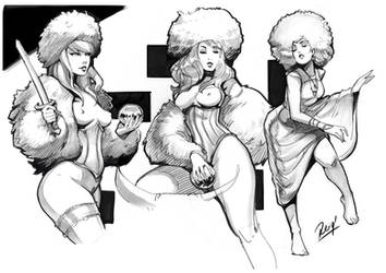 Titmouse Life  Drawing by reiq