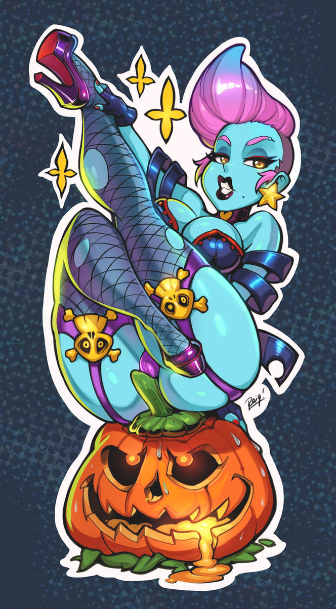 Kinky Cuties Sticker Design by reiq