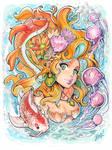 Underwater Traditional Mermaid Fantasy