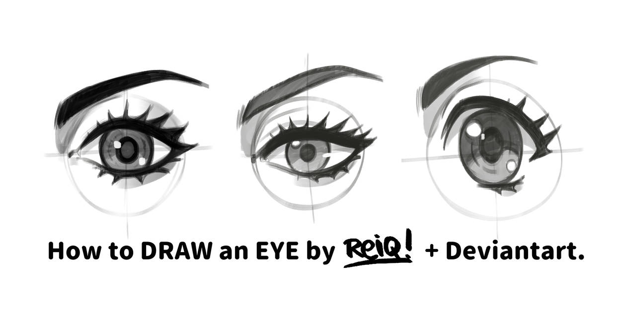 How to Draw eyes by REIQ