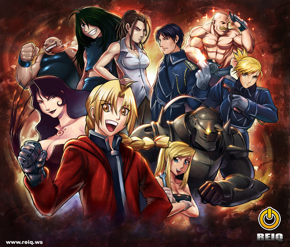 free wallpaper Full Metal Alchemist collections