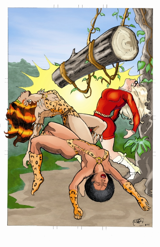 Jungle Trap KO: COMMISSION