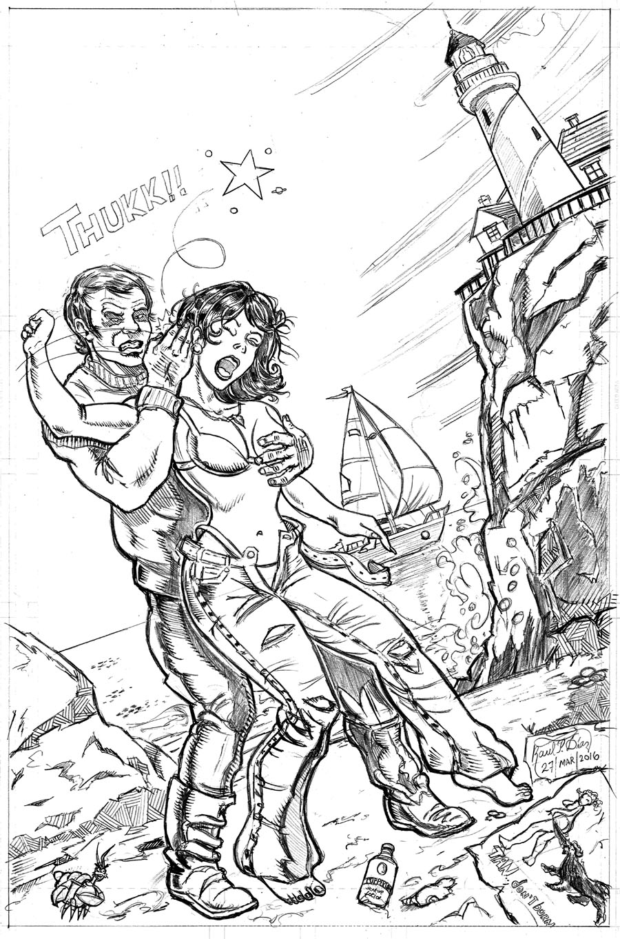 Commission: Sabrina Koed by Captain Radl -PENCILS