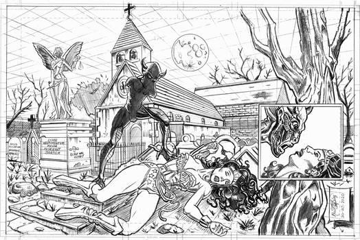 Wonder Woman KO'ed by The Fresno Nightcrawler