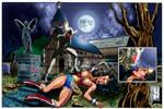 Wonder Woman KOed by The Fresno Nightcrawler COLOR
