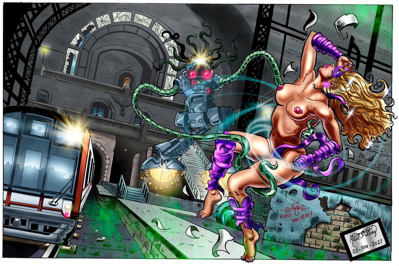Purple Protector KO'ed by Umlaut Nonsensical