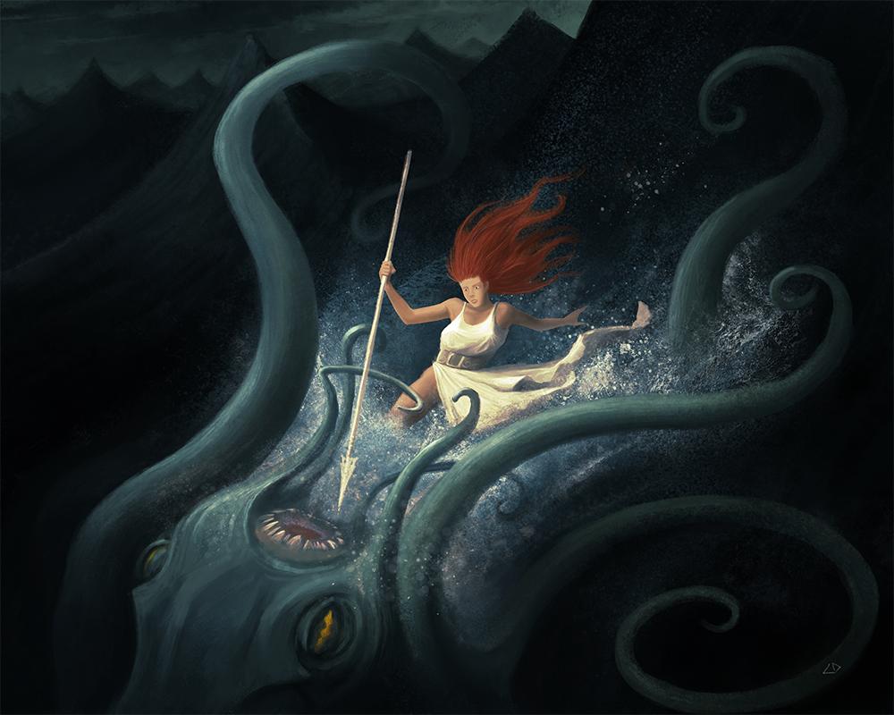At the Sea by CDemirkan