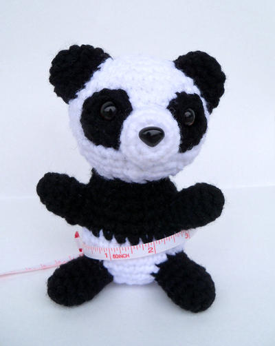 Amigurumi Panda by BlueSkies21