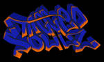 I can't color graffiti by fox0r