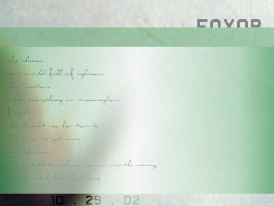 fox0r's Profile Picture
