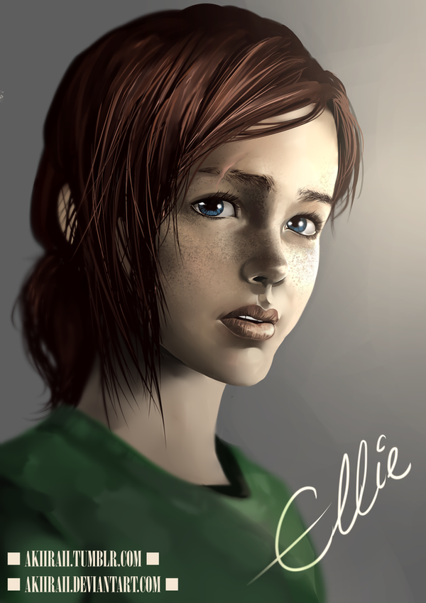 The Last of US: Ellie by AkiiRaii