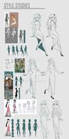 Visual Development: Style Studies