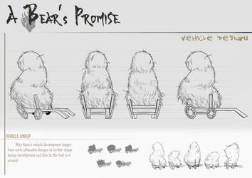 A Bear's Promise: Vehicle 2 by AkiiRaii