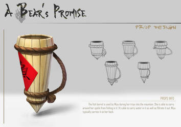 A Bear's Promise: Props 1 by AkiiRaii