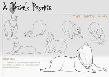 A Bear's Promise: Creature Design 3 by AkiiRaii
