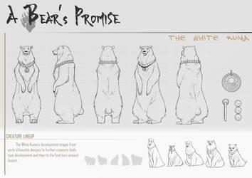 A Bear's Promise: Creature Design 2 by AkiiRaii