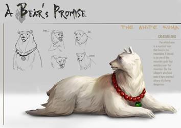 A Bear's Promise: Creature Design 1 by AkiiRaii