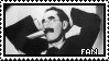 Groucho Marx Stamp by DrFurball