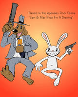 Sam and Max Leap Into Action by DrFurball