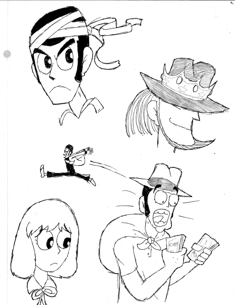 Castle of Cagliostro Doodles by DrFurball