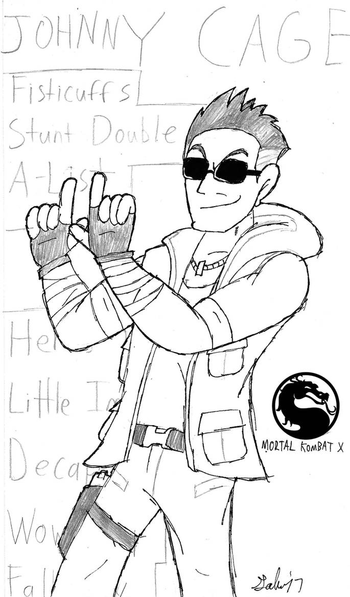 MKX: Johnny Cage by DrFurball