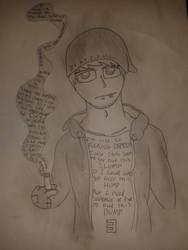 Eminem: 'Beautiful' - Sketch by OverlordAvarice