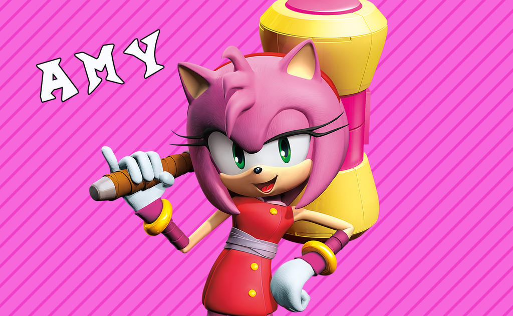 Sonic Boom Wallpaper(Amy) by Millerwireless