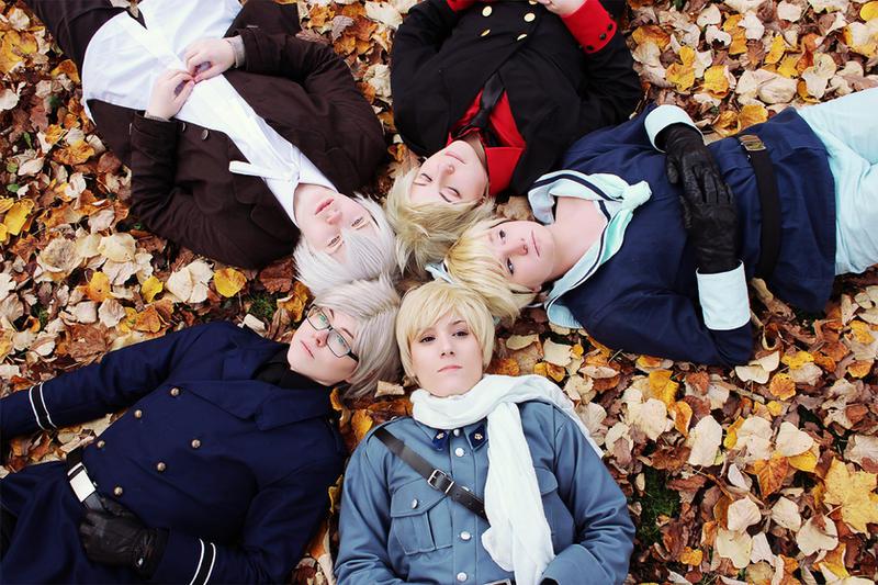 We are family - Hetalia Nordics by TokyoStripper