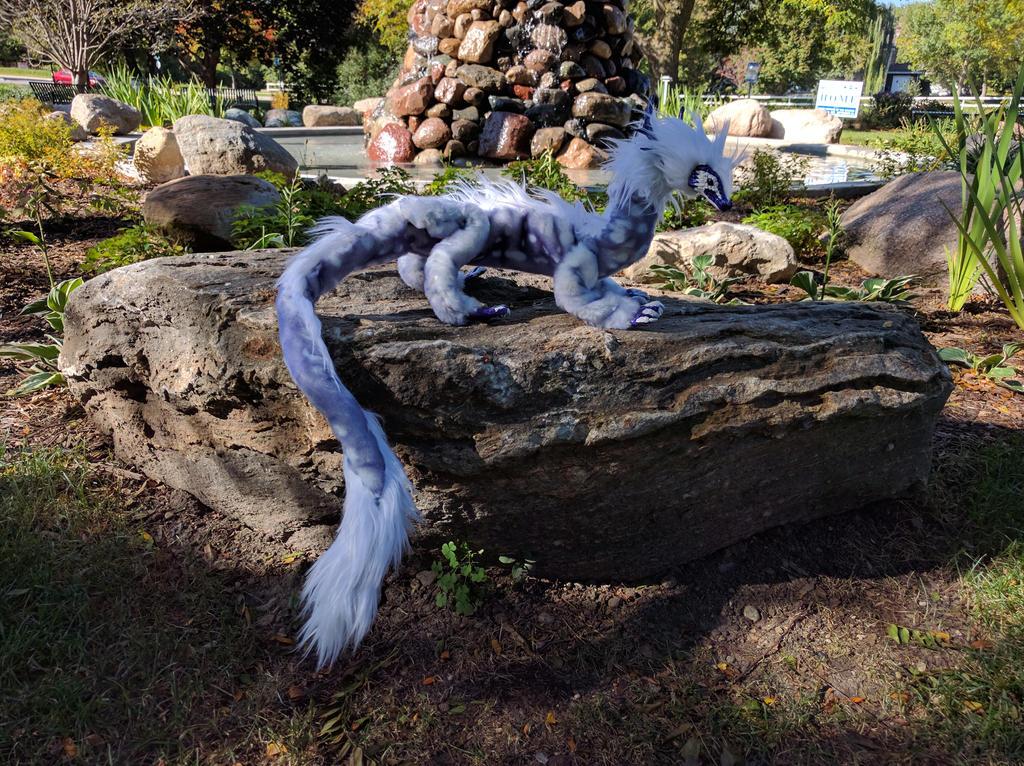 Tsunade Dragon Art Doll by aetherfang
