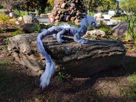 Tsunade Dragon Art Doll