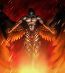 Satan Castlevania Lords of Shadow 2 by evandromenezes
