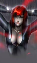Black Widow under arrest by evandromenezes