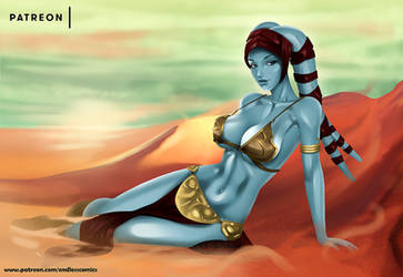 Twi'lek - NSFW on Patreon by evandromenezes