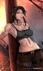 Lara Croft - optional NSFW on Patreon