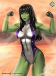 She-Hulk - optional NSFW on Patreon