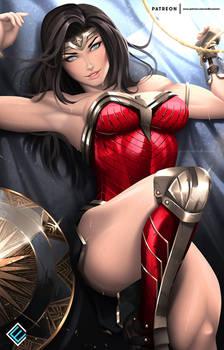 Wonder Woman - optional NSFW on Patreon 4