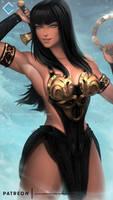 Xena the Warrior Princess - NSFW on Patreon by evandromenezes