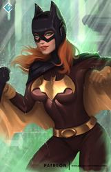 Batgirl - optional NSFW on Patreon by evandromenezes