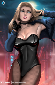Black Canary - optional NSFW on Patreon