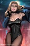 Black Canary - optional NSFW on Patreon by evandromenezes