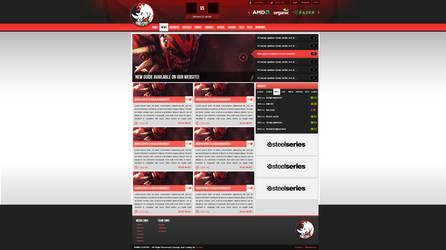 Rhino-Esport webdesign