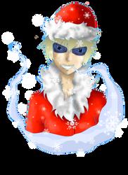 Shizuo as Grandpa Frost