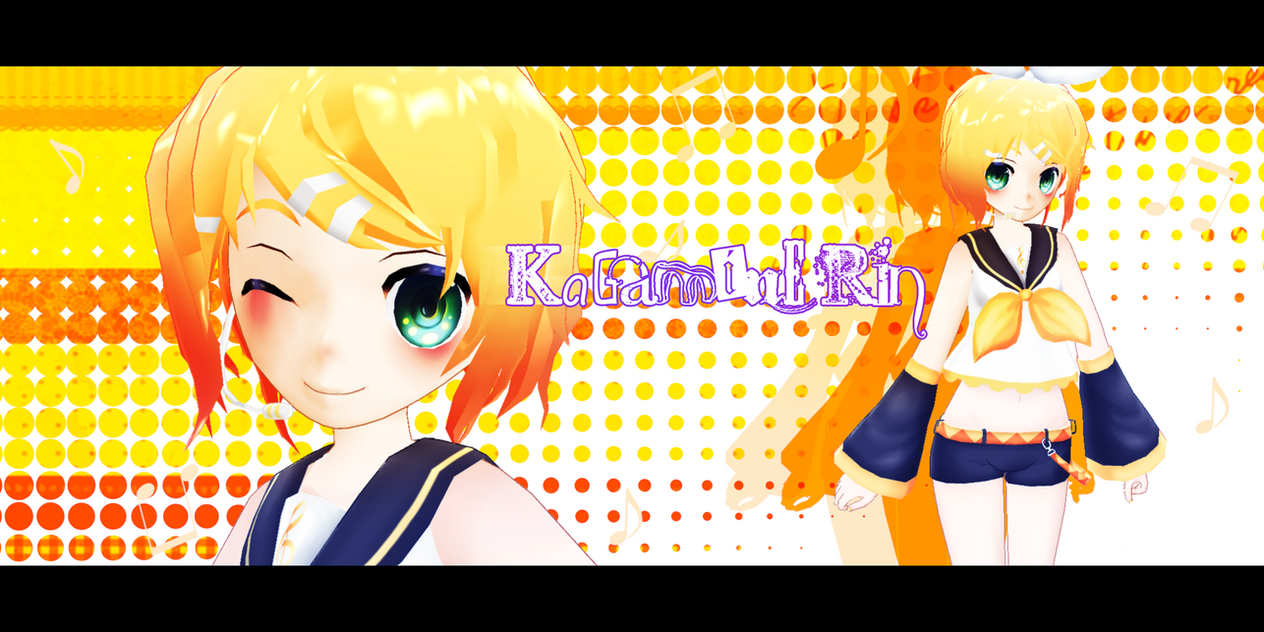 MMD Kagamine Rin DL by Kanahiko-chan