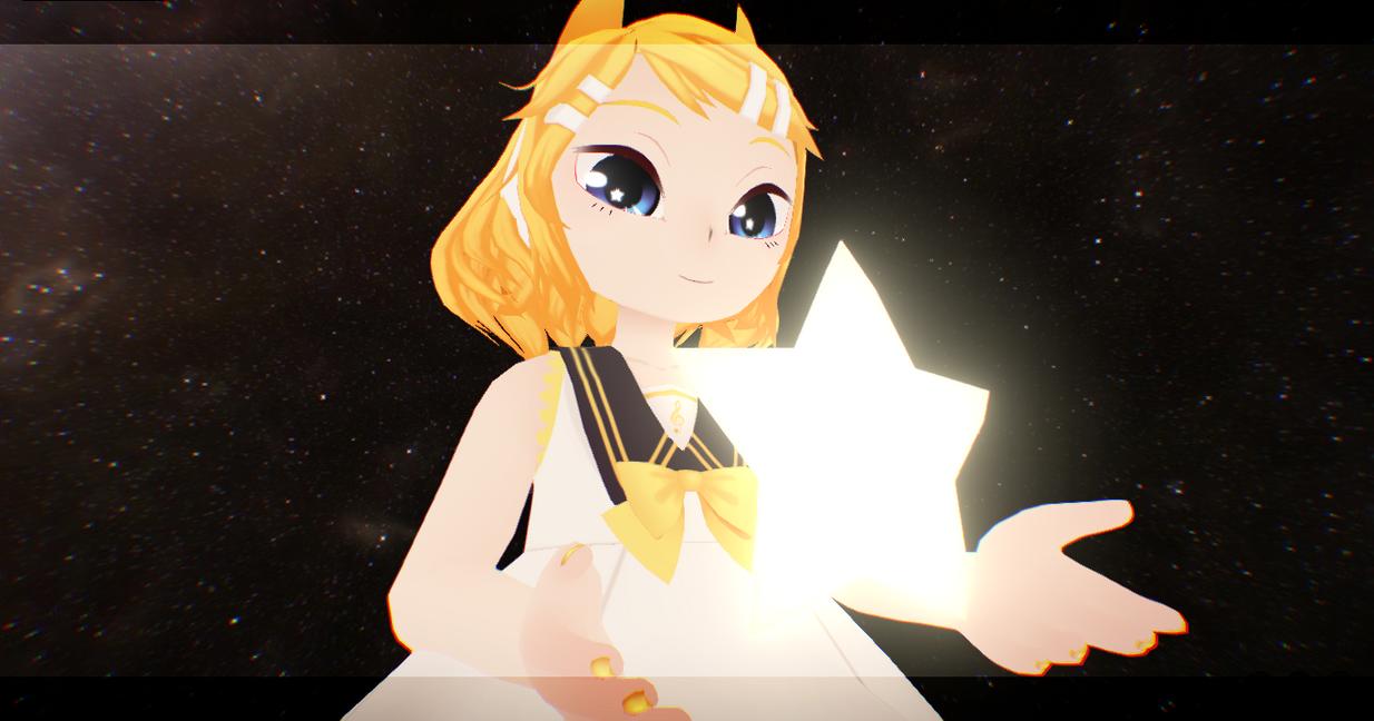 Neko Kagamine Rin by Kanahiko-chan