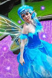 Navi- In the Fairy Fountain.