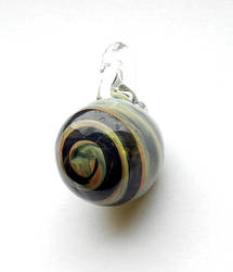 Spiral Pendant - Side by bahgee