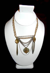 Double Spear Necklace by bahgee