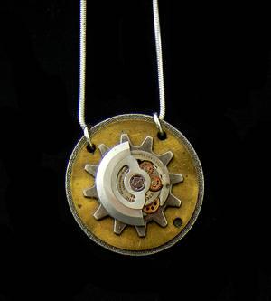 Hidden Gears Necklace