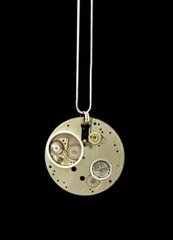 Industrial Full Moon Pendant