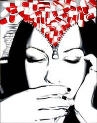 Sleepless Prozac Nights by bahgee